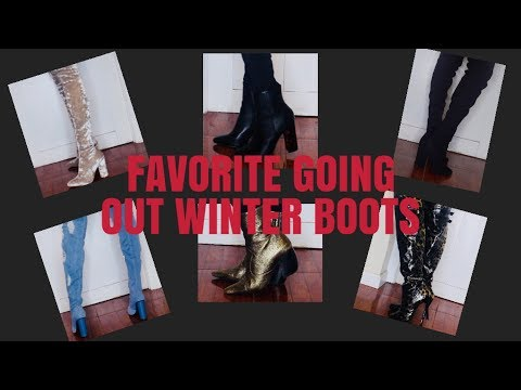 FASHIONNOVA,LULUS,PUBLIC DESIRE AFFORDABLE GOING OUT WINTER BOOTS AND BOOTIES COLLECTION/ALISHA SOLO