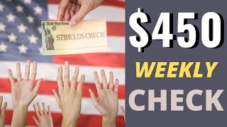Second Stimulus Check Update | $450 Bonus Check Proposal