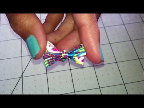 Mini Duct Tape Bow Tutorial!!!
