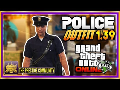 GTA 5 POLICE OUTFIT GLITCH 1.39! *NEW* ''COP OUTFIT GLITCH'' After Patch 1.39 (Xbox One, Ps4, PC)
