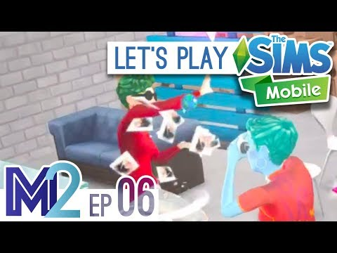 Sims Mobile Let's Play - Photography Career! (Episode 6)