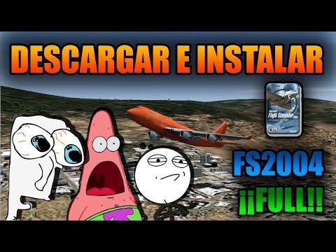 COMO DESCARGAR E INSTALAR FS2004 FULL!