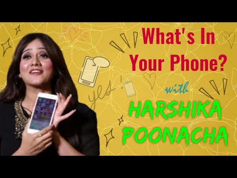 Xxx Mp4 What S In Your Phone Harshika Poonaccha Episode 6 RR Productions 3gp Sex