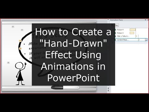 How to Create That 'Hand Drawn' Effect in PowerPoint