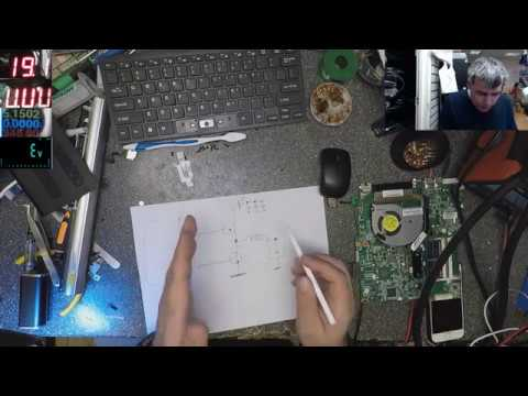 Advanced Motherboard Diagnose and Repair Technique, Hp 15-n031sa