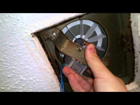 How To Replace Bathroom Fan HD