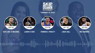 UNDISPUTED Audio Podcast (2.23.18) with Skip Bayless, Shannon Sharpe, Joy Taylor | UNDISPUTED