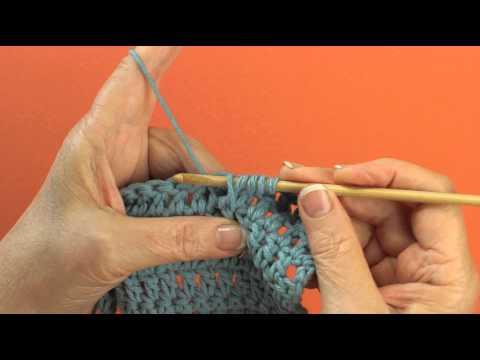 Front Post Double Treble Crochet Technique