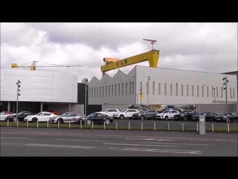 Belfast Porsche Centre Opens Sydenham Rd Titanic