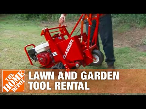 Lawn Tool Rental - The Home Depot