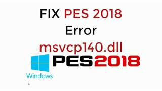 msvcp140.dll download pes 2019