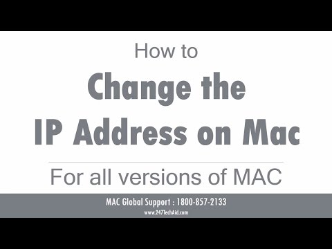 How to Change the IP Address on a Mac
