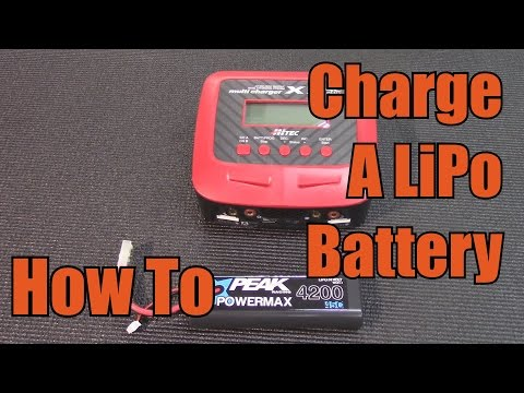 Charge LiPo Batteries - HOW-TO