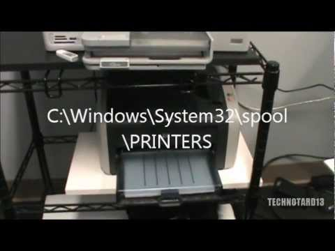 How to Install a HP Laserjet 1012 in Windows 7 (& Windows 8) and Fix PCL Problem Pt. 1