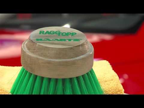 HAARTZ/RAGGTOPP Premium Convertible Top Brush