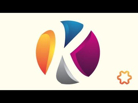 Circle Letter Logo Design Tutorial / 3D Logo Design / Adobe illustrator Logo Design For Beginners