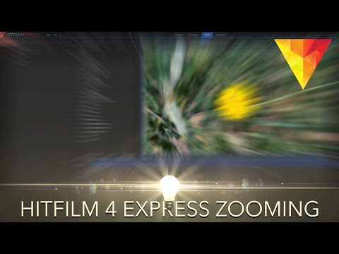 How to Zoom in Hitfilm 4 Express!