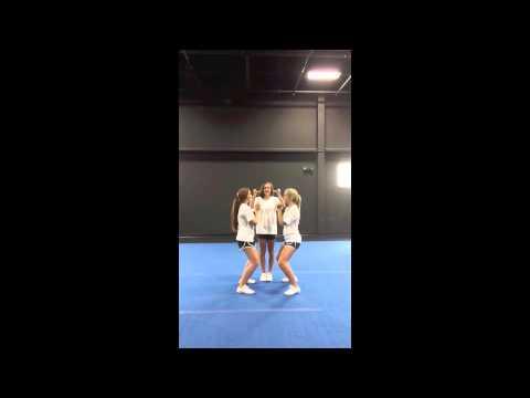 Advanced Cheerleading Stunt Progression: Extension Timing Drill
