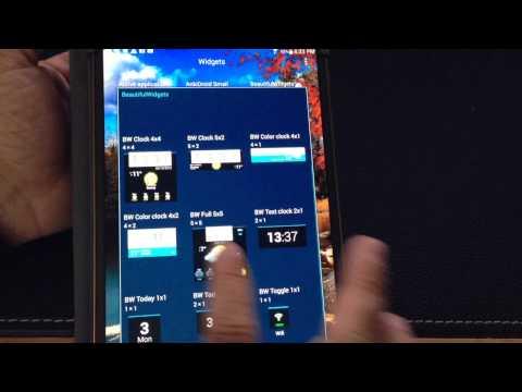 Samsung Galaxy Tab S 8.4 & 10.5 Tip: Change the Weather widget