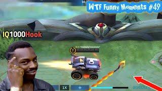 WTF Funny Moments Episode #49 | Mobile Legends WTF