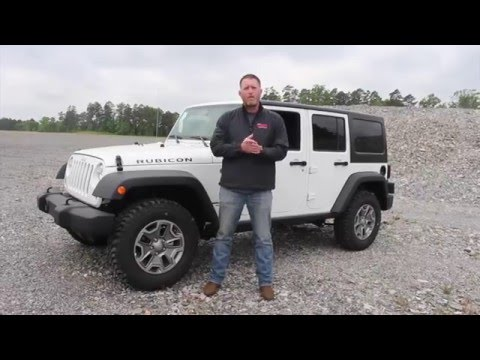 How to Use the Jeep Wrangler 4x4 System | Steve Landers Chrysler Dodge Jeep Ram in Little Rock