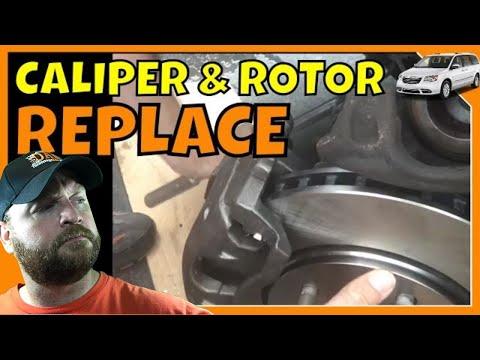 Chrysler Town & Country Caliper & Rotor Replace Repair