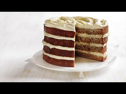 banana layer cake with cream cheese icing