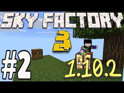 Minecraft Sky Factory 3 1.10.2 - Mob Spawner Lava And Tinkers Construct (2)