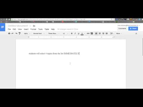 How to do a Word Count With Google Docs