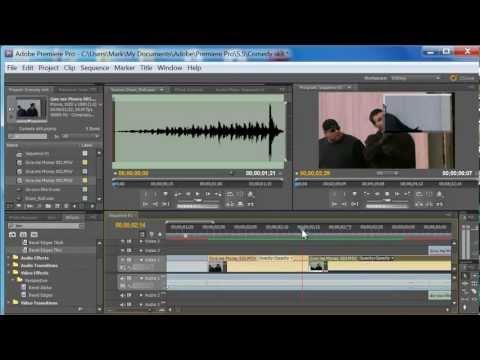 Premiere Pro CS5.5 Video Editing Tutorial