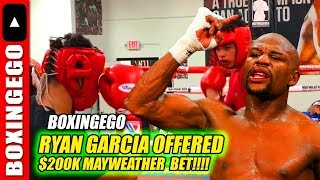 Download FIGHT TMT ROLLY $200,000 - MAYWEATHER BETS RYAN GARCIA! THEN GET TANK DAVIS!! Video