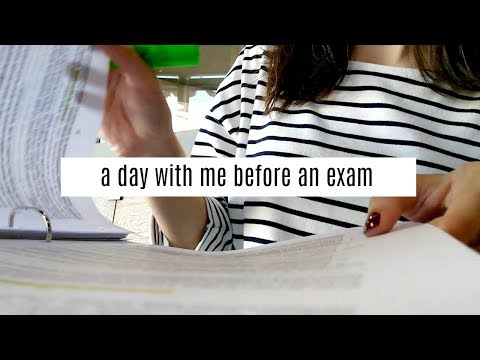 A Day with Me || Studying at Starbucks and College before Exams