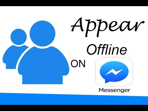 How to appear offline on Facebook Messenger *New Update 2017*