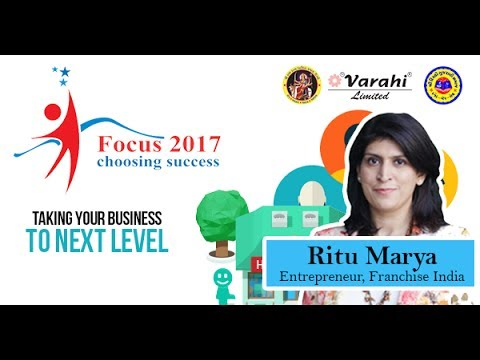 Taking Your Business to its Next Level   Ritu Marya   Franchise India
