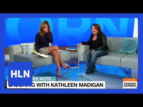 Kathleen Madigan on HLN's Morning Express with Robin Meade