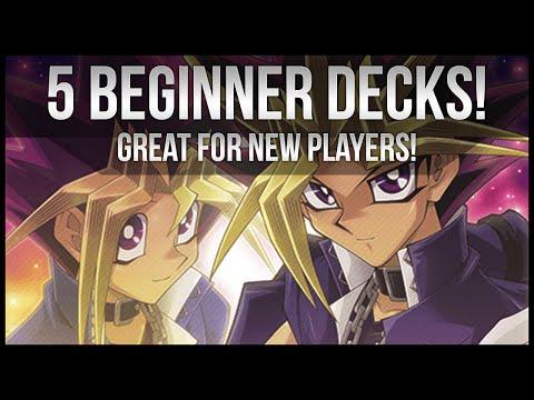 Top 5 Beginner Yu-Gi-Oh Decks! | Advice