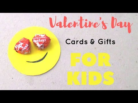 DIY Valentine's Day Cards and Gifts for Kids to Make | Easy Valentines Crafts