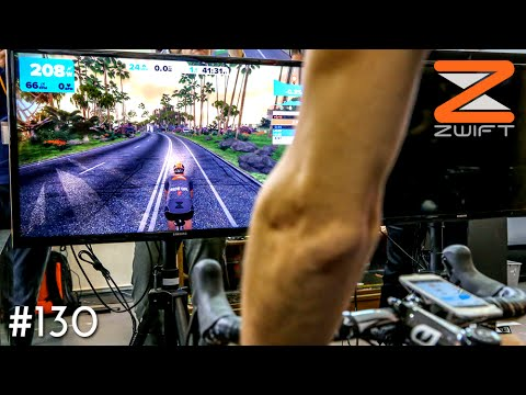 HOW TO GET FIT ON THE BIKE  DURING WINTER - ZWIFT CYCLING