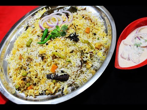 Restaurant Style Vegetable Dum Biryani - Chef Lall's Kitchen