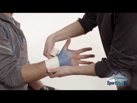 SportSmart: Athletic Taping - Wrist