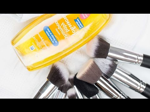 How To Clean Makeup Brushes With Baby Shampoo