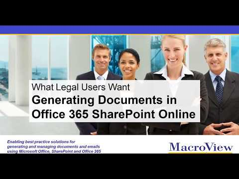 Generating Documents In O365 SharePoint Online