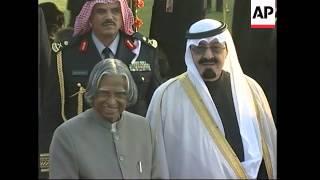 Saudi King attends Republic Day reception