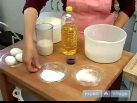 How to Make a Layer Cake : Ingredients For Layer Cake