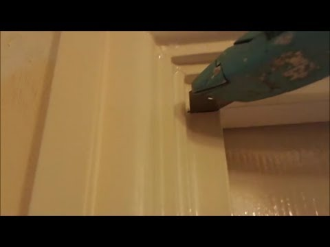 Backfilling deep cracks before caulking