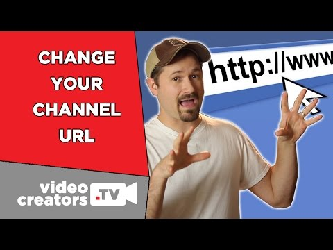 New Options to Change your YouTube Channel URL