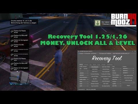 PS3/GTA5] Recovery Tool 1 25/1 26/1 27 | MONEY, UNLOCK ALL