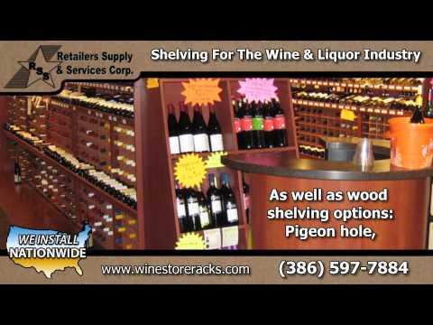 Wine Store Racks