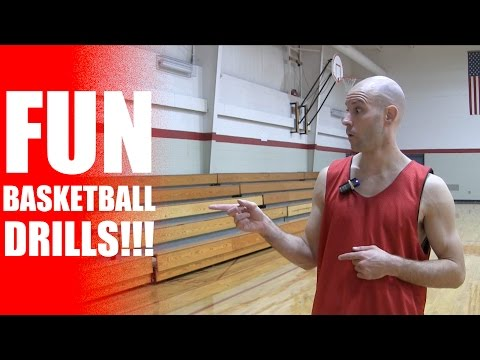 FUN Basketball Drills! Basketball Workout: How To Get Handles | Snake