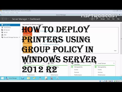 15. Deploying Printers Using Group Policy in Windows server 2012 R2 (70-410)